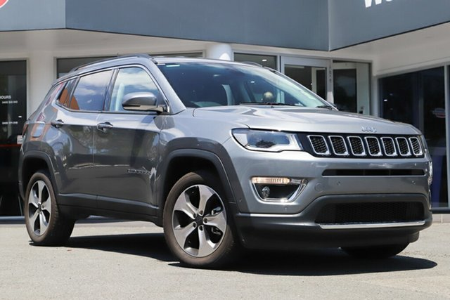 Used Jeep Compass M6 MY18 Limited, 2018 Jeep Compass M6 MY18 Limited Grey Magnesio 9 Speed Automatic Wagon