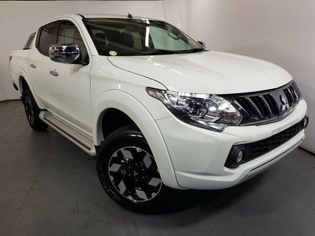 Used Mitsubishi Triton MQ MY18 Exceed Double Cab, 2018 Mitsubishi Triton MQ MY18 Exceed Double Cab White 5 Speed Sports Automatic Utility