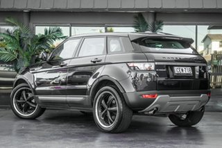 2011 Land Rover Range Rover Evoque L538 MY12 Si4 CommandShift Pure Blue 6 Speed Sports Automatic.