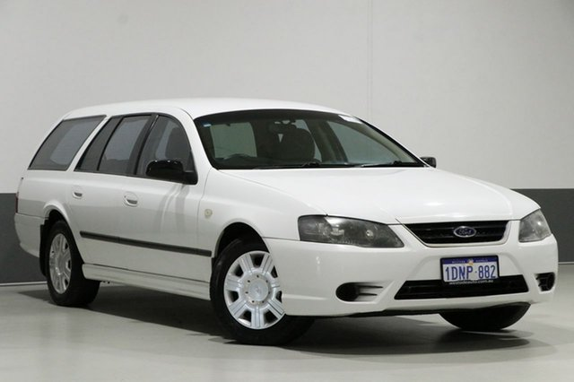 Used Ford Falcon BF MkIII XT, 2008 Ford Falcon BF MkIII XT White 4 Speed Auto Seq Sportshift Wagon