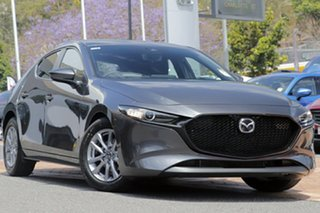 2020 Mazda 3 BP G20 Pure Vision Machine Grey 6 Speed Automatic Hatchback.