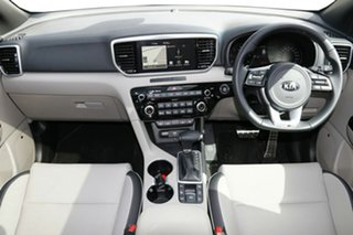 2020 Kia Sportage QL MY21 GT-Line AWD Snow White Pearl 6 Speed Sports Automatic Wagon