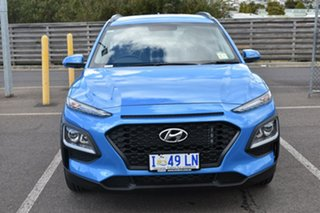 2019 Hyundai Kona OS.2 MY19 Active D-CT AWD Blue Lagoon 7 Speed Sports Automatic Dual Clutch Wagon.