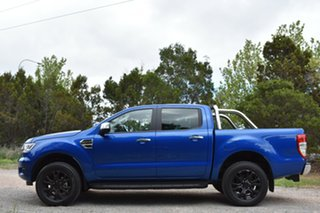 2019 Ford Ranger PX MkIII 2019.75MY XLT Pick-up Double Cab Blue Lightning 10 Speed Sports Automatic.