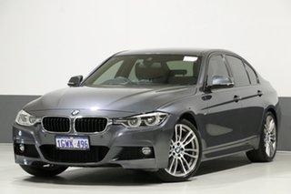 2018 BMW 330i F30 LCI MY18 M Sport Mineral Grey 8 Speed Automatic Sedan.