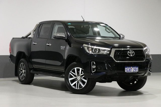 Used Toyota Hilux GUN126R MY19 SR5 (4x4), 2018 Toyota Hilux GUN126R MY19 SR5 (4x4) Black 6 Speed Automatic Double Cab Pickup