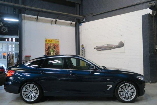 Used BMW 3 Series F34 MY0613 320i Gran Turismo Luxury Line, 2013 BMW 3 Series F34 MY0613 320i Gran Turismo Luxury Line Blue 8 Speed Sports Automatic Hatchback
