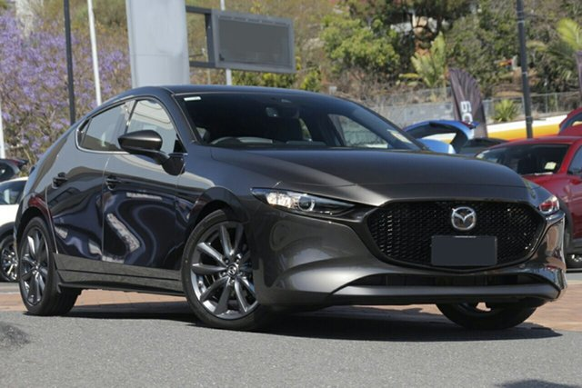 New Mazda 3 BP2H7A G20 SKYACTIV-Drive Touring Newstead, 2021 Mazda 3 BP2H7A G20 SKYACTIV-Drive Touring Titanium Flash 6 Speed Sports Automatic Hatchback
