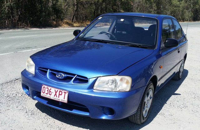 Used Hyundai Accent LC GS, 2000 Hyundai Accent LC GS 4 Speed Automatic Hatchback