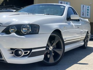 2007 Ford Performance Vehicles Super Pursuit BF Mk II White 6 Speed Sports Automatic Utility.