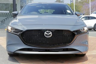2020 Mazda 3 BP2HLA G25 SKYACTIV-Drive Evolve Machine Grey 6 Speed Sports Automatic Hatchback