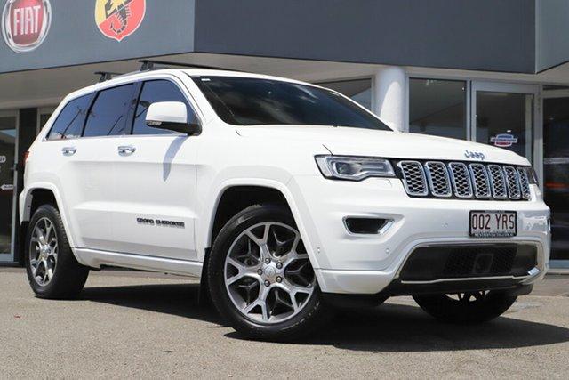 Used Jeep Grand Cherokee WK MY19 Overland, 2019 Jeep Grand Cherokee WK MY19 Overland Bright White 8 Speed Sports Automatic Wagon