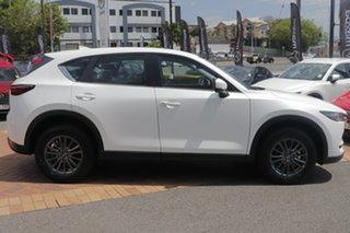2020 Mazda CX-5 KF2W7A Maxx SKYACTIV-Drive FWD Sport Snowflake White Pearl 6 Speed Sports Automatic.