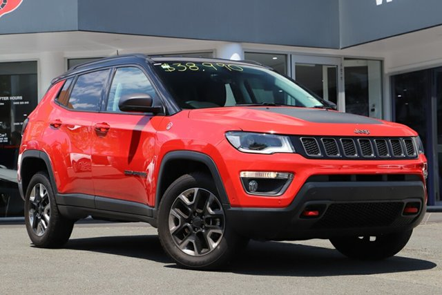 Used Jeep Compass M6 MY18 Trailhawk, 2018 Jeep Compass M6 MY18 Trailhawk Colorado Red 9 Speed Automatic Wagon