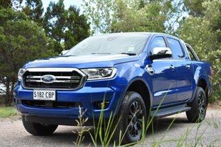 2019 Ford Ranger PX MkIII 2019.75MY XLT Pick-up Double Cab Blue Lightning 10 Speed Sports Automatic