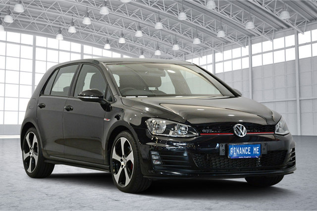 Used Volkswagen Golf VII MY15 GTI DSG, 2015 Volkswagen Golf VII MY15 GTI DSG Black 6 Speed Sports Automatic Dual Clutch Hatchback