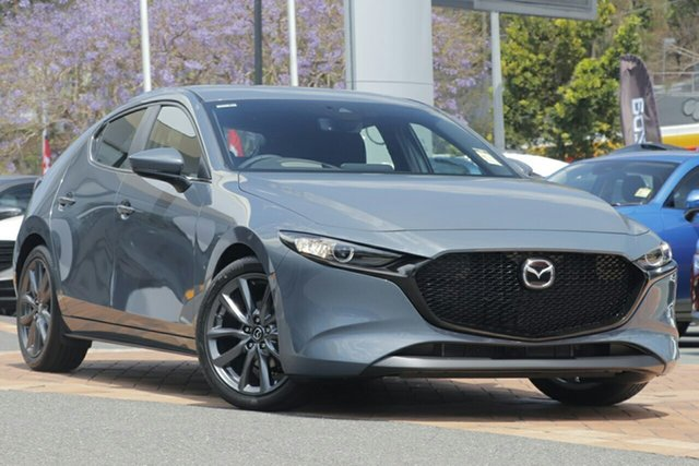 New Mazda 3 BP2HLA G25 SKYACTIV-Drive Evolve, 2019 Mazda 3 BP2HLA G25 SKYACTIV-Drive Evolve Polymetal Grey 6 Speed Sports Automatic Hatchback