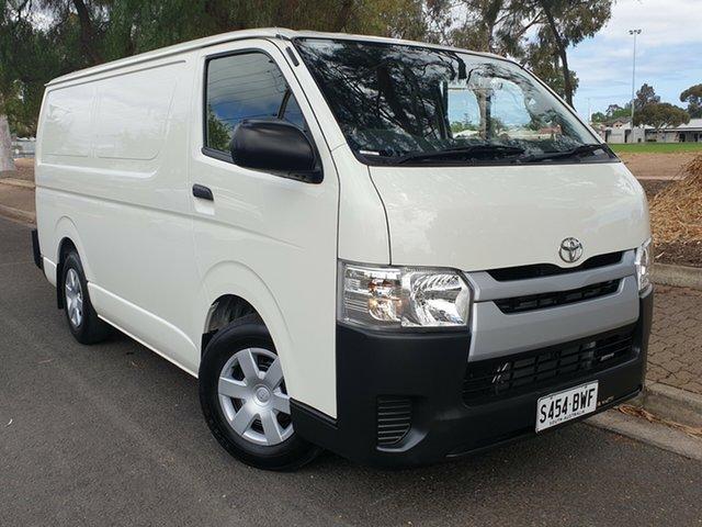 Used Toyota HiAce KDH201R LWB, 2018 Toyota HiAce KDH201R LWB White 4 Speed Automatic Van