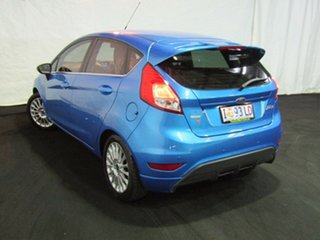 2014 Ford Fiesta WZ Sport PwrShift Blue 6 Speed Sports Automatic Dual Clutch Hatchback.