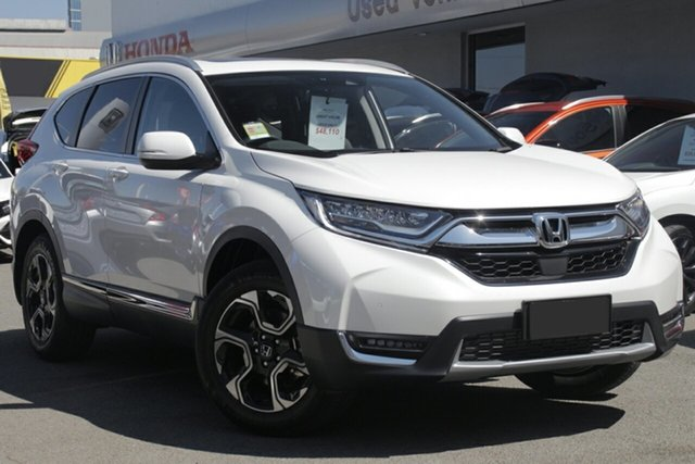 New Honda CR-V RW MY20 VTi-LX 4WD, 2019 Honda CR-V RW MY20 VTi-LX 4WD Platinum White 1 Speed Constant Variable Wagon