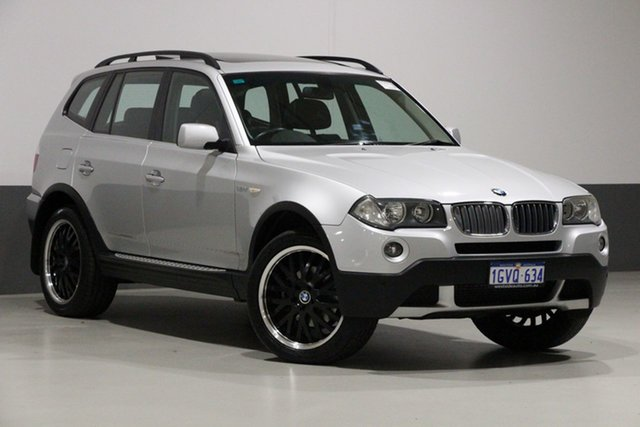 Used BMW X3 E83 MY09 xDrive 30d Lifestyle, 2008 BMW X3 E83 MY09 xDrive 30d Lifestyle Silver 6 Speed Auto Steptronic Wagon