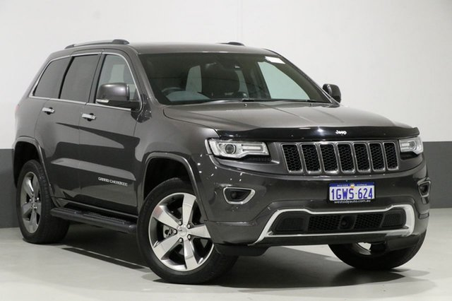 Used Jeep Grand Cherokee WK MY14 Overland (4x4), 2014 Jeep Grand Cherokee WK MY14 Overland (4x4) Grey 8 Speed Automatic Wagon