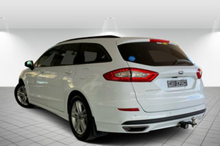 2015 Ford Mondeo MD Ambiente PwrShift White 6 Speed Sports Automatic Dual Clutch Wagon