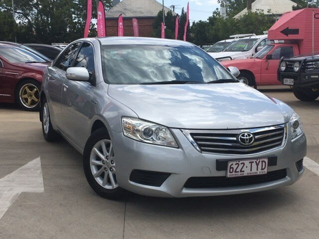 Used Toyota Aurion GSV40R MY10 AT-X, 2011 Toyota Aurion GSV40R MY10 AT-X Silver 6 Speed Sports Automatic Sedan