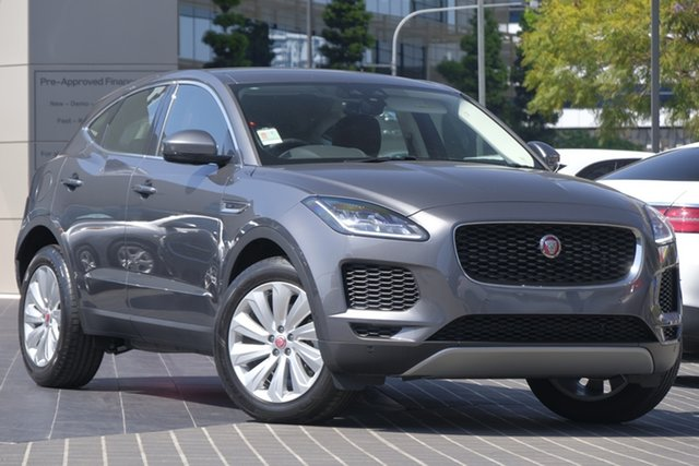 Demo Jaguar E-PACE X540 18MY D150 AWD SE, 2018 Jaguar E-PACE X540 18MY D150 AWD SE Corris Grey 9 Speed Sports Automatic Wagon