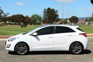 2015 Hyundai i30 GD3 Series II MY16 Premium White 6 Speed Manual Hatchback