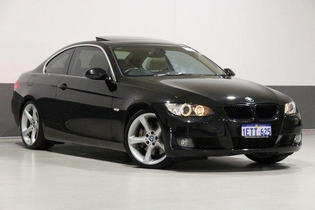 Used BMW 335i E92 , 2007 BMW 335i E92 Black 6 Speed Auto Steptronic Coupe
