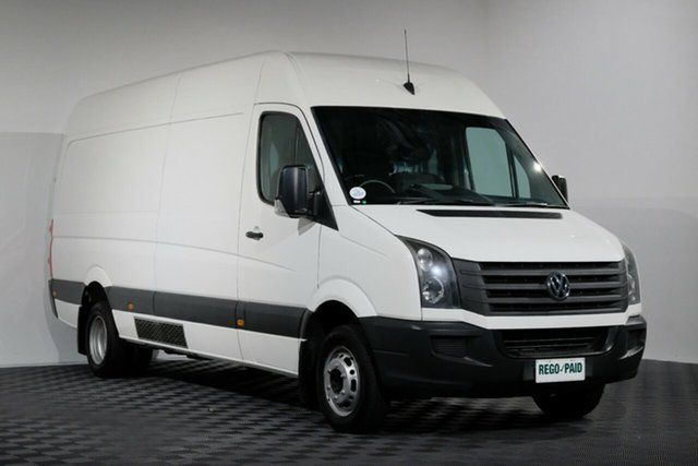 Used Volkswagen Crafter 2EH2 MY12 50 LWB TDI330, 2013 Volkswagen Crafter 2EH2 MY12 50 LWB TDI330 White 6 speed Automatic Van