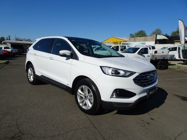 Used Ford Endura CA 2019MY Trend SelectShift AWD, 2018 Ford Endura CA 2019MY Trend SelectShift AWD Oxford White 8 Speed Sports Automatic Wagon