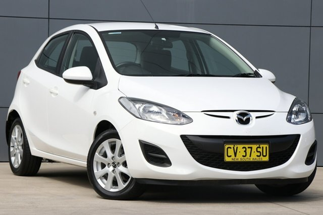 Used Mazda 2 DE10Y2 MY14 Neo Sport, 2014 Mazda 2 DE10Y2 MY14 Neo Sport White 4 Speed Automatic Hatchback