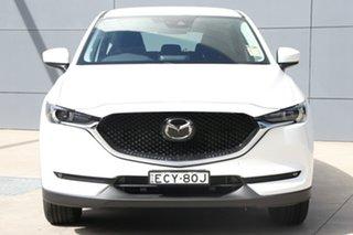 2019 Mazda CX-5 KF2W7A Maxx SKYACTIV-Drive FWD Sport Snowflake White 6 Speed Sports Automatic Wagon.