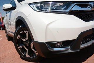 2019 Honda CR-V RW MY19 VTi-S 4WD Platinum White 1 Speed Constant Variable Wagon.