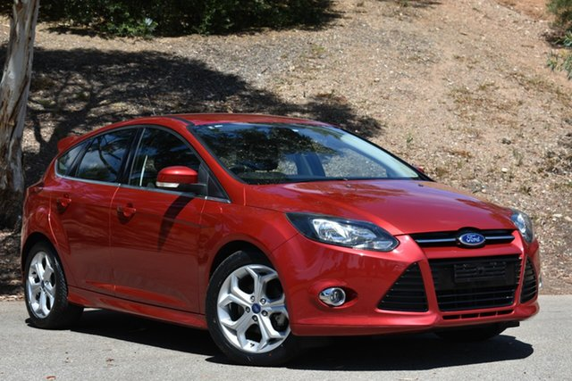 Used Ford Focus LW MkII Sport, 2013 Ford Focus LW MkII Sport Red 5 Speed Manual Hatchback