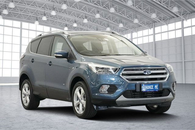 Used Ford Escape ZG 2018.00MY Trend PwrShift AWD, 2018 Ford Escape ZG 2018.00MY Trend PwrShift AWD Blue Metallic 6 Speed Sports Automatic Dual Clutch