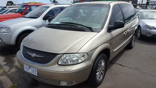 2002 Chrysler Grand Voyager RG 4th Gen Limited Gold 4 Speed Automatic Wagon