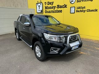 2015 Nissan Navara D23 ST Cosmic Black 6 Speed Manual Utility.