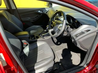 2013 Ford Focus LW MkII Titanium PwrShift Red 6 Speed Sports Automatic Dual Clutch Hatchback