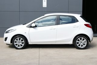 2014 Mazda 2 DE10Y2 MY14 Neo Sport White 4 Speed Automatic Hatchback