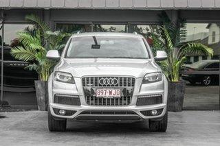 2011 Audi Q7 MY12 TDI Tiptronic Quattro Silver 8 Speed Sports Automatic Wagon.