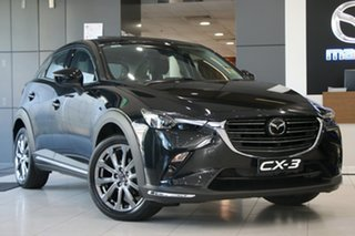 2020 Mazda CX-3 DK4W7A Akari SKYACTIV-Drive i-ACTIV AWD LE Jet Black 6 Speed Sports Automatic Wagon.
