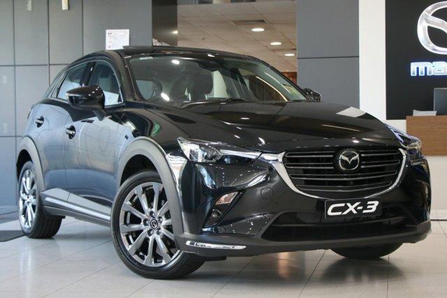 New Mazda CX-3 DK4W7A Akari SKYACTIV-Drive i-ACTIV AWD LE Liverpool, 2020 Mazda CX-3 DK4W7A Akari SKYACTIV-Drive i-ACTIV AWD LE Jet Black 6 Speed Sports Automatic Wagon