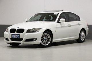 2010 BMW 320d E90 MY09 Executive White 6 Speed Auto Steptronic Sedan.