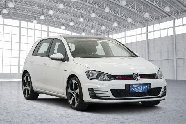 Used Volkswagen Golf VII MY15 GTI DSG, 2015 Volkswagen Golf VII MY15 GTI DSG White 6 Speed Sports Automatic Dual Clutch Hatchback