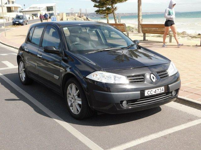 Used Renault Megane II B84 Dynamique, 2005 Renault Megane II B84 Dynamique Black 6 Speed Manual Hatchback
