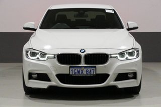 2018 BMW 330i F30 LCI MY18 M Sport Alpine White 8 Speed Automatic Sedan.