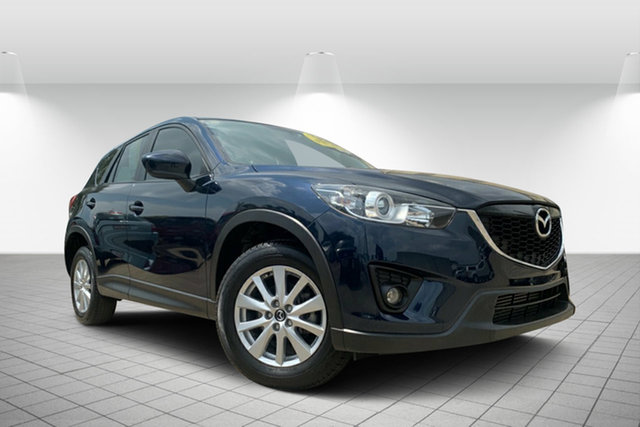 Used Mazda CX-5 KE1021 MY14 Maxx SKYACTIV-Drive AWD Sport, 2013 Mazda CX-5 KE1021 MY14 Maxx SKYACTIV-Drive AWD Sport Blue 6 Speed Sports Automatic Wagon